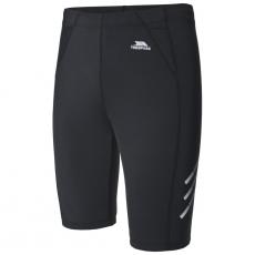 Likvidace skladu! Dámské černé běžecké šortky Black XL