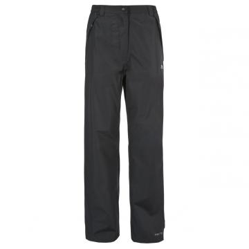 Likvidace skladu! Dámské nepromokavé kalhoty Trespass Lorena / TP75 (5000mm / 5000mvp) Black S