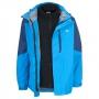 Likvidace skladu! Pánská outdoorová bunda 3 v 1 Trespass Maker / TP75 (2000mm / 3000mvp) Cobalt