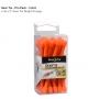 Multifunkční upínák Nite Ize – profi balení, 24 kusů, délka 7 cm, barva jasně oranžová