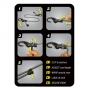 Elastický provaz Nite Ize KnotBone s přizpůsobitelnou délkou – krátký