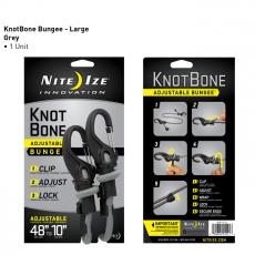 Elastický provaz Nite Ize KnotBone s přizpůsobitelnou délkou 25-121 cm