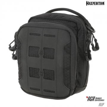 Pouzdro Maxpedition Accordion Utility Pouch (AUP) AGR / 19x16 cm Black