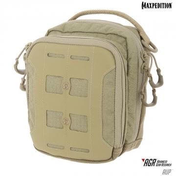 Pouzdro Maxpedition Accordion Utility Pouch (AUP) ARG / 19x16 cm Tan