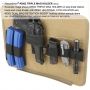 Pouzdro na zásobníky na suchý zip Maxpedition Triple Mag (3502) Black