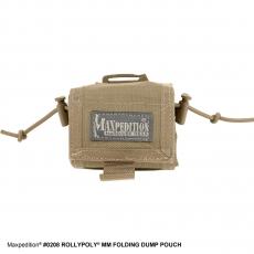 Skládací pouzdro Maxpedition Rollypolly (0208) / 20x15 cm Khaki