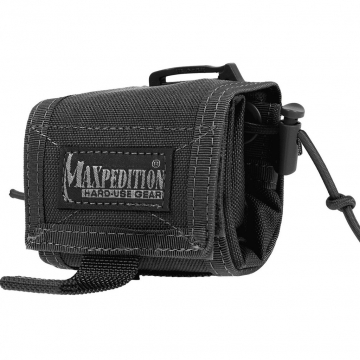 Skládací pouzdro Maxpedition Rollypolly (0208) / 20x15 cm Black