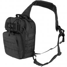 Batoh přes rameno Maxpedition Lunada Gearslinger / 9.8L / 20x13x30 cm Black