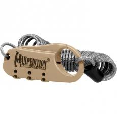 Zámek s kombinací Maxpedition Lock (CABLOCK)