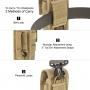 Pouzdro Maxpedition TC-3 (PT1039) / 10x17 cm Black