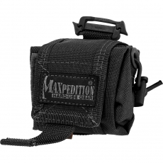Pouzdro Maxpedition Mini Rollypolly na láhev Nalgene / 20x10 cm Black