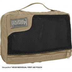 Pouzdro Maxpedition MOLLE na první pomoc Individual First Aid (0329) / 15x20 cm Khaki