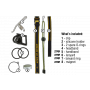 Čelovka Armytek Tiara A1 Pro v2 XP-L / Studená bílá / 600lm (0.8h) / 86m / 10 režimů / IP68 / Li-Ion 14500 / 59gr