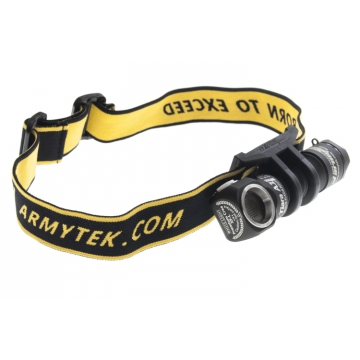 Čelovka Armytek Tiara A1 v2 XP-L / Studená bílá / 600lm (0.8h) / 86m / 6 režimů / IP68 / Li-Ion 14500 / 48gr