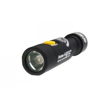 Svítilna Armytek Prime A1 v3 XP-L  / Teplá bílá / 558lm (50min) / 112m / 6 režimů / IP68 / 14500 Li-Ion / 54gr