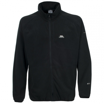 Likvidace skladu! Pánská fleecová bunda Trespass Gladstone / AT100 (190gsm) Black L