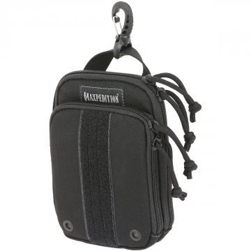 Organizér Maxpedition ZipHook malý (PT1535) / 16x11 cm Black
