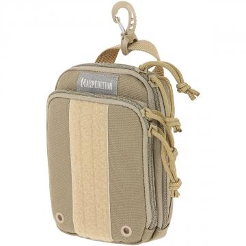 Organizér Maxpedition ZipHook střední (PT1536)/ 17x12 cm Khaki