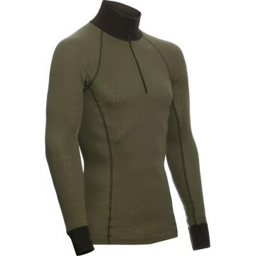 ZIP Polo-krční triko TERMO Original (lehké)  / -5°C +20°C / 120 g/m2 Green L