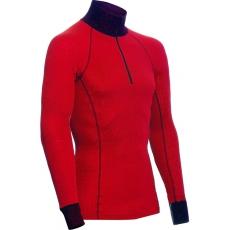 ZIP Polo-krční triko TERMO Original (lehké)  / -5°C +20°C / 120 g/m2 Red