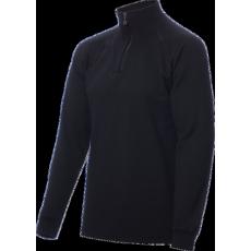 ZIP Polo-krční triko TERMO Original (vlna, těžké) / -40°C +5°C / 300 g/m2 Black