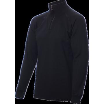 ZIP Polo-krční triko TERMO Original (vlna, těžké) / -40°C +5°C / 300 g/m2 Black M