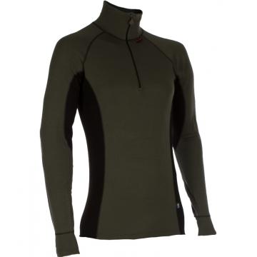 ZIP Polo-krční triko TERMO Original (vlna, střední)  / -15°C +10°C / 220 g/m2 Green XL