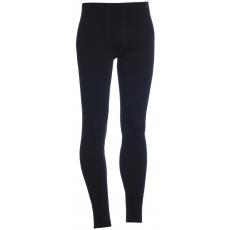 Dlouhé spodky bez poklopec TERMO Original (vlna, střední)  / -15°C +10°C / 220 g/m2 Black