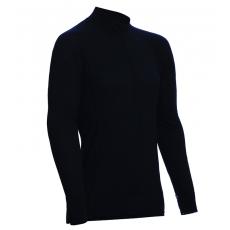ZIP Polo-krční triko TERMO Original (vlna, lehké) Black XL, L, M