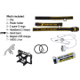 Čelovka Armytek Wizard v3 XP-L USB Magnet/ Teplá bílá / 1160lm (1.5h) / 115m / 6 režimů / IP68 / Včetně 1 x Li-ion 18650 / 48gr