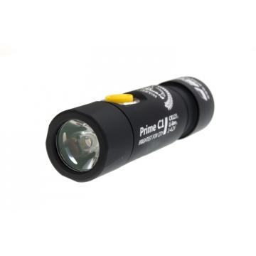 Svítilna Armytek Prime C1 v3 XP-L / Teplá bílá / 744lm (40min) / 122m / 6 režimů / IP68 / Li-Ion 16340/ 52gr