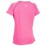 Likvidace skladu! Dámský sportovní top Trespass Mamo Hi Visibility Pink S