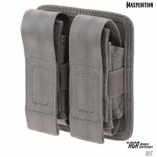 Dvojité pouzdro Maxpedition Double Sheath Pouch (DES) / 10x4x13 cm Grey
