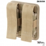 Dvojité pouzdro Maxpedition Double Sheath Pouch (DES) / 10x4x13 cm Tan
