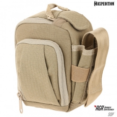 Brašna Maxpedition Side Opening Pouch / 13x15 cm Tan