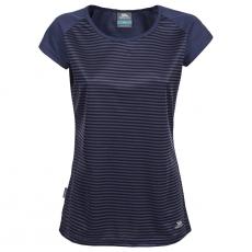 Dámské sportovní tričko Trespass Lolita Airforce Blue Stripe