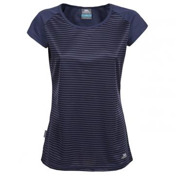 Likvidace skladu! Dámské sportovní tričko Trespass Lolita Airforce Blue Stripe M