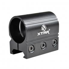 Montaze na zbraň pro svítilnu 25.4mm XTAR