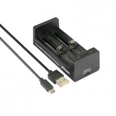 Nabíječka USB XTAR MC2 pro 3.6 / 3.7 Li-ion / IMR / INR / ICR: 18650, 14500, 14650,