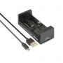 Nabíječka USB XTAR MC2 pro 3.6 / 3.7 Li-ion / IMR / INR / ICR: 18650, 14500, 14650,...