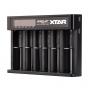 Nabíječka USB XTAR QUEEN ANT MC6 pro 3.6 / 3.7 Li-ion / IMR / INR / ICR: 18650, 10440, 14500, 14650, 16340, 17335, 17500, 17670, 18350, 18490, 18500, 18700, 22650, 25500, 26650