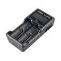 Nabíječka USB XTAR VC2 Plus pro:  3.6 / 3.7 Li-ion / IMR / INR / ICR: 18650, 10440, 14500, 14650, 16340, 17335, 17500, 17670, 18350, 18490, 18500, 18700, 22650, 25500, 26650, 32650.  Ni-MH / Ni-CD AAAA, AAA, AA, A, SC, C, D