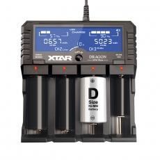 Nabíječka XTAR VP4 Plus pro:  3.6 / 3.7 Li-ion / IMR / INR / ICR: 18650, 10440, 14500,...
