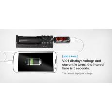 USB meřič napětí a proudu XTAR VI01
