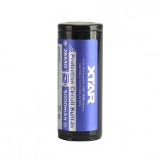 XTAR 26650 Li-Ion  5000mAh Dobíjecí, chráněné baterie