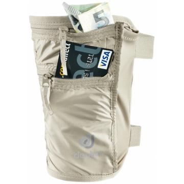 Deuter SECURITY LEGHOLSTER - Cestovní bezpečnostní kapsa Black