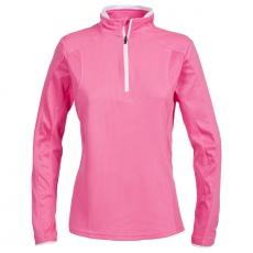 Dámské sportovní triko Trespass Ollog Half Zip / TP75 Hi Visibility Pink