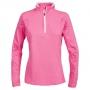 Likvidace skladu! Dámské sportovní triko Trespass Ollog Half Zip / TP75 Hi Visibility Pink M