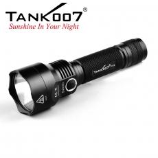 Svítilna Tank007 PT12 / Studená bílá / 800lm (1.5h) / 280m / 3 režimů / IPx8 / 18650