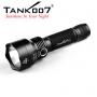 Svítilna Tank007 PT12 / Studená bílá / 800lm (1.5h) / 280m / 3 režimů / IPx8 / 18650 Li-Ion / 161gr
